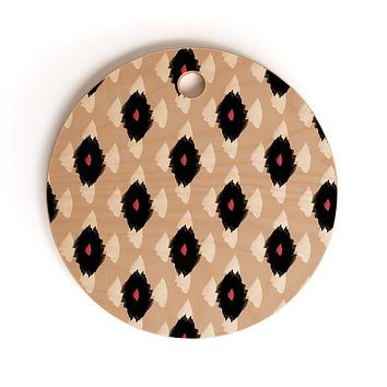 Allyson Johnson iKat Class Cutting Board Round
