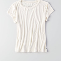 AEO Soft & Sexy Tomgirl T-Shirt, Cream