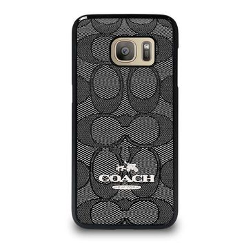 COACH NEW YORK CHARLIE SIGNATURE Samsung Galaxy S7 Case Cover