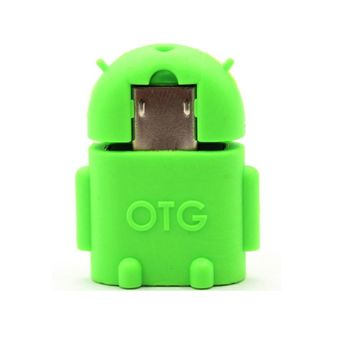 USB Adapter Mini Robot Shape Android Converter