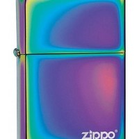 Zippo Spectrum Lighter with Logo