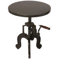 Industrial Chic Clifford Industrial Chic End Table