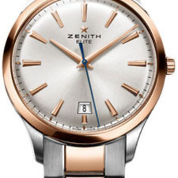 Zenith - Elite Captain Central Second Stainless Steel and Rose Gold #51.2020.670/01.M2020