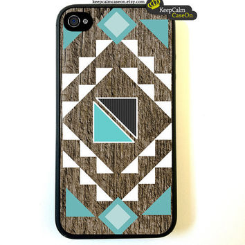 iPhone 4 Case GeometricalArt Iphone 4s case by KeepCalmCaseOn