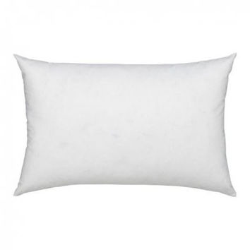 12X16 Down Feather Pillow Insert