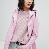 Hunter Lightweight Rubber Raincoat at asos.com