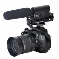 TAKSTAR SGC-598 Microphone Photography Interview Microphone Hotography Interviews for Nikon Canon Camera Camcorder DSLR with Windscreen