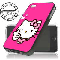 Pink Hello Kity iPhone 4s iphone 5 iphone 5s iphone 6 case, Samsung s3 samsung s4 samsung s5 note 3 note 4 case, iPod 4 5 Case
