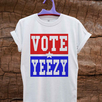 VOTE YEEZY Kanye West 2020 president campaign T-Shirt Unisex Adults Size S to 2XL