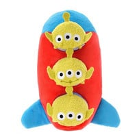 Disney Parks Toy Story Space Ship Rocket Plush 3 Alien Tsum Tsum Mini New Tag
