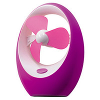 ABS Silent Cartoon USB Mango Portable Cooling Fan    Purple