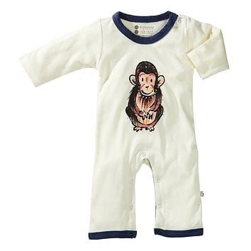 Chimp - Organic Baby Winter Jumpsuit