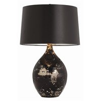 Flynn Black Table Lamp