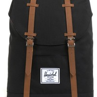 Herschel Supply Retreat Black Backpack