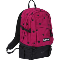 Supreme: Stars Backpack - Fuschia