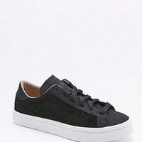 adidas Originals Vantage Black Perforated Trainers - Urban Outfitters