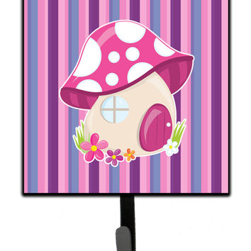 Fairy House Pink and Purple Leash or Key Holder BB6908SH4