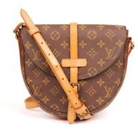 Louis Vuitton Chantilly Brown 5673 Canvas Cross Body Bag (Authentic Pre-owned)