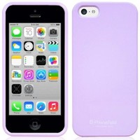 Phoneadd - Alice Pastel Soft Slim Fit Jelly Case for Iphone 5C 5 C (Purple)