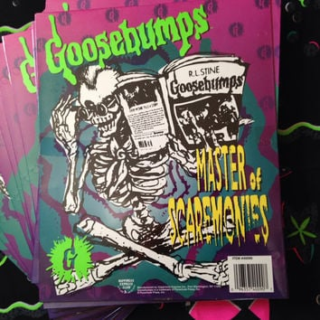 90's Gouly Goosebumps Folders
