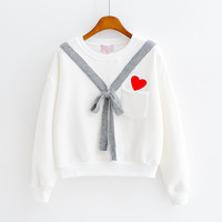 BOW SWEATSHIRT