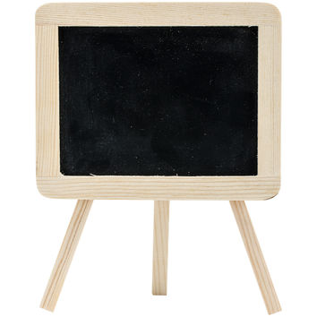 Wood Craft DIY Chalkboard Easel 6.25X4.94-