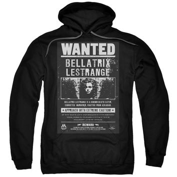 Harry Potter - Wanted Bellatrix Adult Pull Over Hoodie Officially Licensed Apparel
