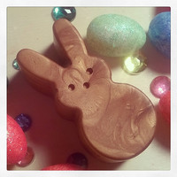 Bunny Bronzer Lotion Bar - Vegan Solid Lotion Bar - Organic Coconut Oil - Pick Your Scent - All Vegan NO BEESWAX - Body Face Lotion