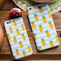Fruits Pineapple iPhone 5s 5se 6 6s Plus Case Cover-170928