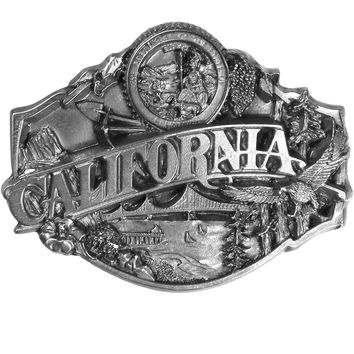 Sports Accessories - California Antiqued Belt Buckle