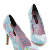 ModCloth Nautical Seashell Belle Heel