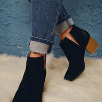 Union Station Cutout Booties