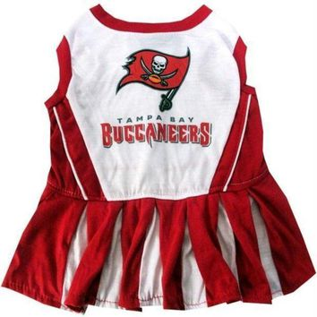 qiyif Tampa Bay Buccaneers Cheerleader Pet Dress