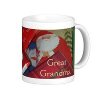 Great Grandma Christmas Coffee Mug from Zazzle.com