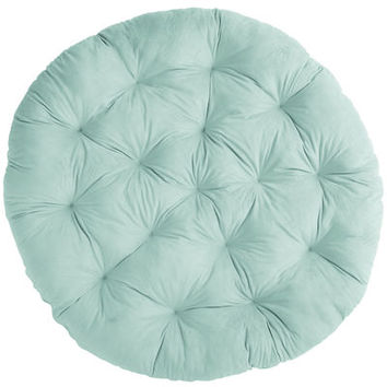 Papasan Cushion - Plush Mint Green