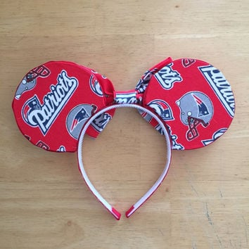 Patriots Inspired Mouse Ears