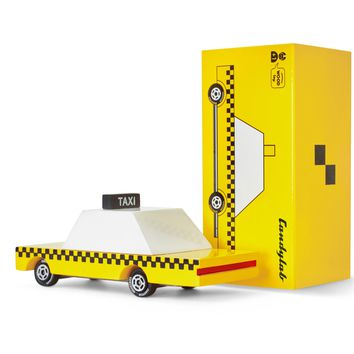 Candycar Yellow Taxi by Candylab Toys