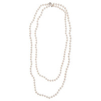 Collection opera-length pearl necklace - fine jewelry collection - Women's jewelry - J.Crew
