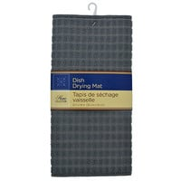 Bulk Home Collection Gray Microfiber Dish Drying Mats, 12 x 18 in. at DollarTree.com