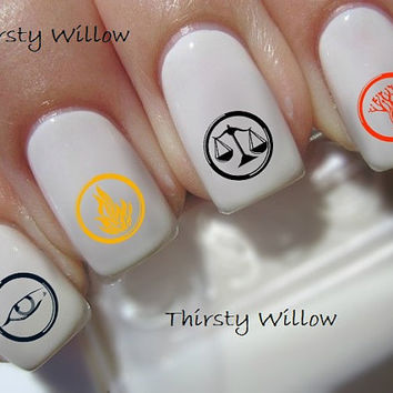Divergent Factions Nail Decals