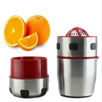 Hot Sale On Sale Hot Deal Easy Tools Kitchen Helper Stainless Steel Fruits Juice Squeezer [6282892870]