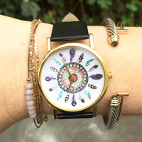 Dreamcatcher Vegan Leather Watch