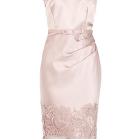 LUMA DUCHESS SATIN DRESS