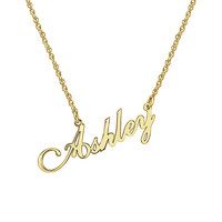 Ladies Script Name Necklace