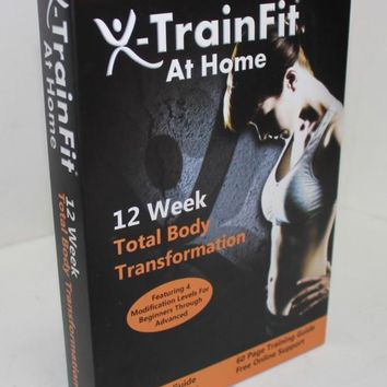 X-TrainFit: 90 Day DVD Workout Program with 8 Exercise Videos