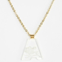 Diament Jewelry For Urban Renewal Acrylic Letter Necklace