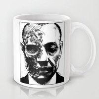 Breaking Bad - Gus Fring Mug by Aaron Campbell