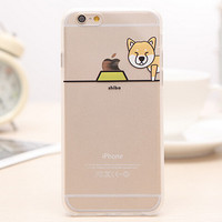 Dog iPhone 5s 6 6s Plus creative case Gift-99