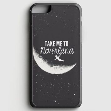 Peter Pan Take To Me Neverland iPhone 8 Case