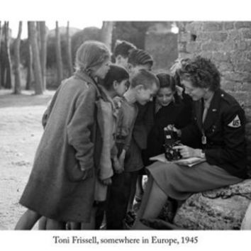 Toni Frissell SOMEWHERE IN EUROPE 1945 poster 24x36 war military photography